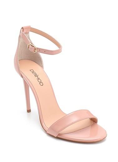 Derimod Kadın Sandalet (21884) Smart Pudra